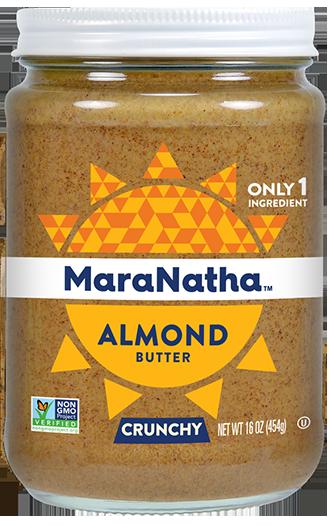 Roasted No Salt Almond Butter Crunchy