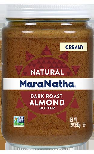 MaraNatha Almond Butter Dark Roast Creamy