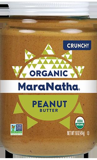 MaraNatha Peanut Butter Organic Crunchy No-Stir